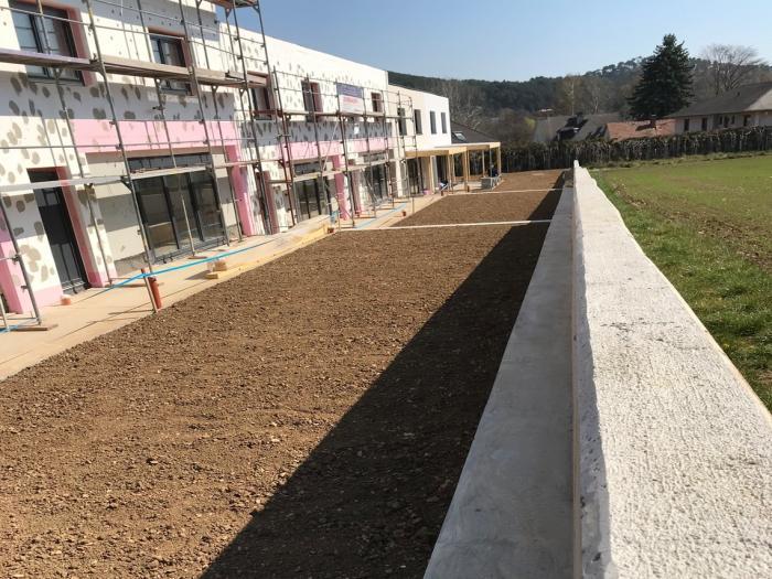 Bauteil 4 Gartenansicht